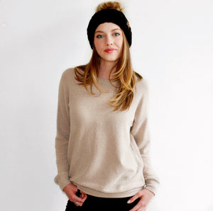 Toasty Sweatshirt in Almond