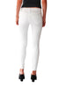 Icon Mid-Rise Skinny Ankle Jean in White - Shopatflirt  - 2