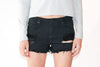 Volcom High Waisted Ripped Short - Shopatflirt  - 2