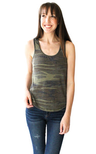 Tank Top in Camo - Shopatflirt  - 1