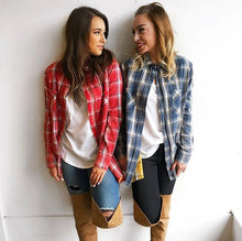 Plaid Zip Up Jacket