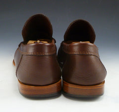 Baccaglini Men's Leather Loafers Size 12 US Brown