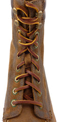 Frye Dakota Lace Up Boots Size 7.5 Brown