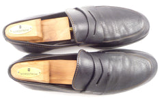 Louis Vuitton Men's Leather Loafers Size 11 US Black