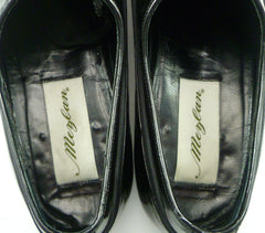 Mezlan sz 9 B Broadway Patent Leather Oxfords Mens Shoes Black
