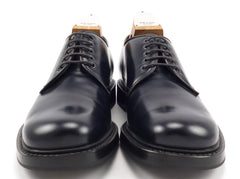 Prada Men's Shoes 6.5, 8.5 US Leather Plain Toe Lace Up Oxfords Black