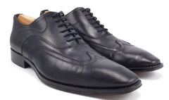 To Boot New York Men's Shoes 9.5 Adam Derrick Leather Wingtip Oxfords Black