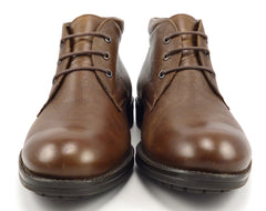 Mephisto Isacio Men's Leather Boots Size 8 Brown