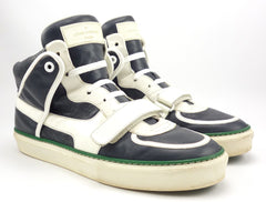 Louis Vuitton Men's Shoes 8, 9 US Tower Leather High Top Sneakers Blue / White
