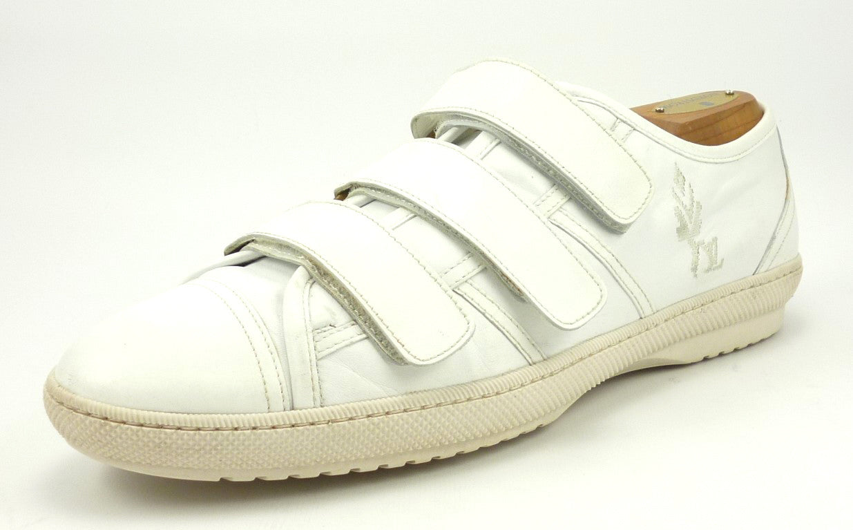 ec26f6e79912 Louis Vuitton Men s Shoes 7.5 US Leather Sneakers White ...