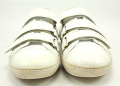 Louis Vuitton Men's Shoes 6.5, 7.5 US Leather Strap Sneakers White