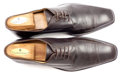 Dolce & Gabbana Men's Shoes 10, 11 US Leather Lace Up Oxfords Brown