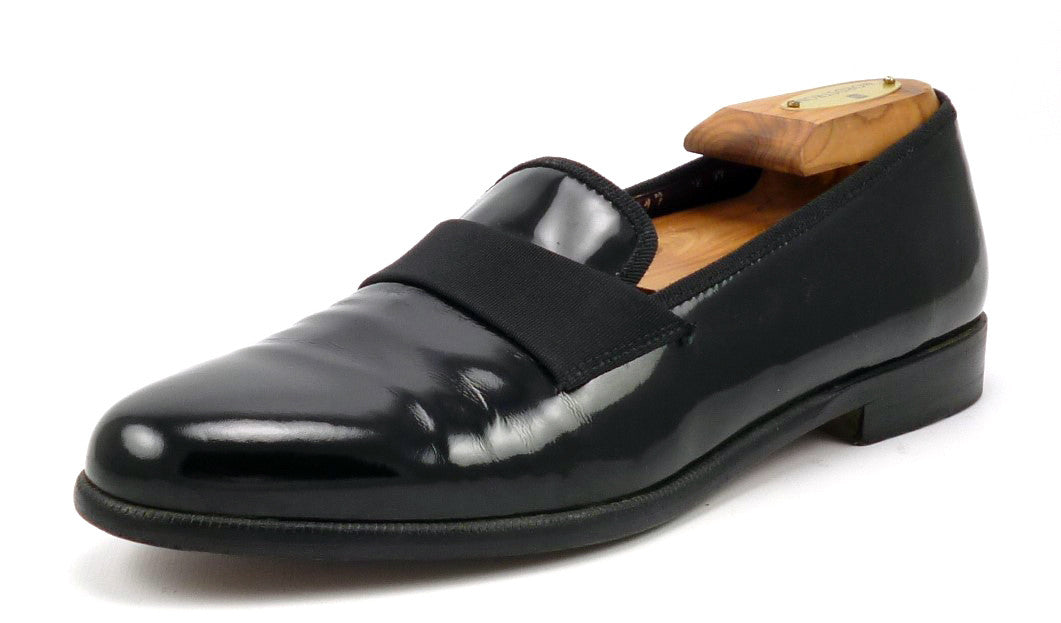 Shoes 7 US Notte Patent Loafers Black