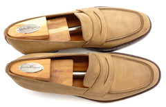 Ferragamo Men's Leather Loafers Size 8 US Brown