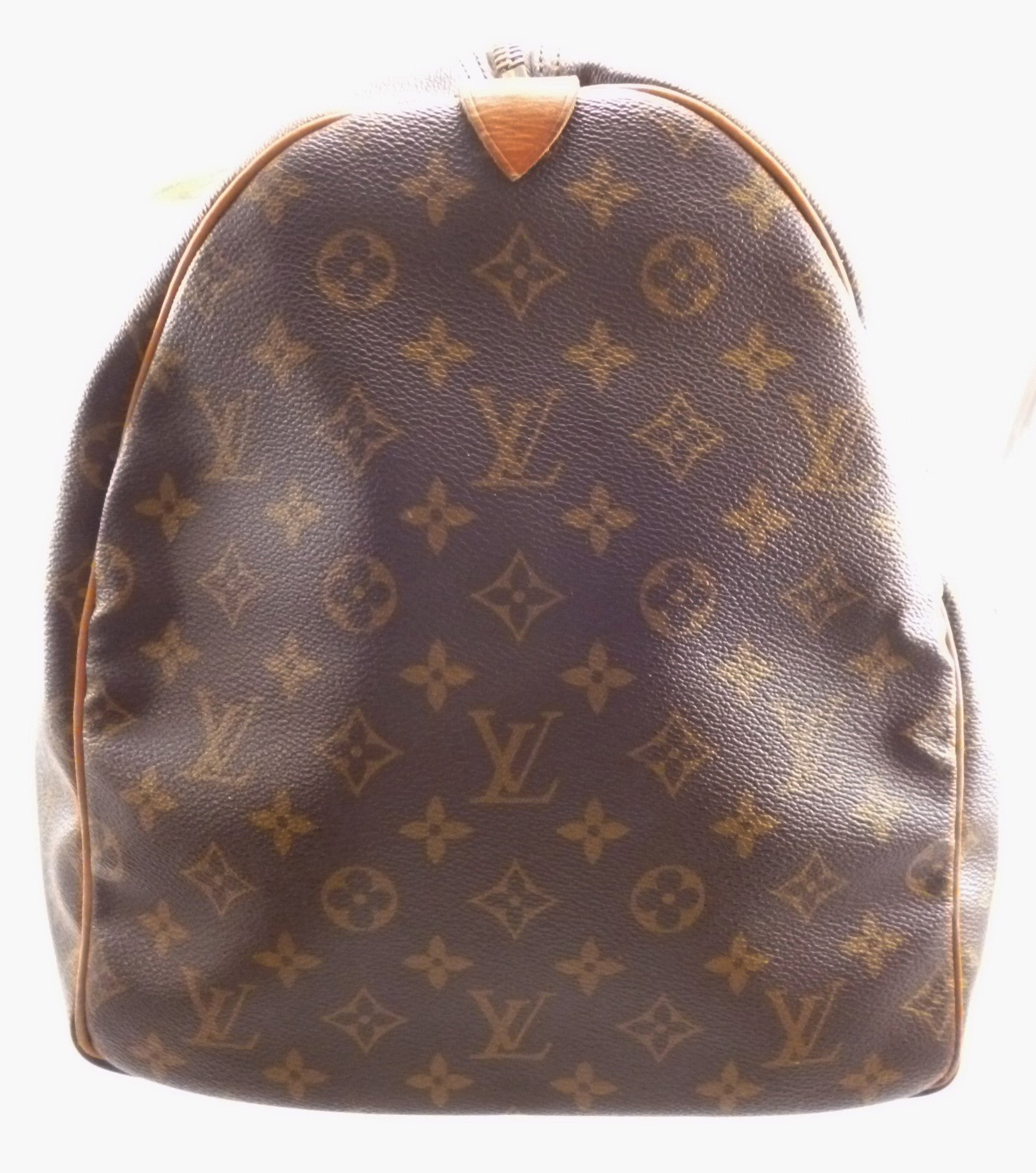 louis vuitton used bags. louis vuitton authentic monogram keepall 55 travel bag used bags