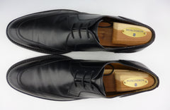 Saint Laurent YSL Men's Shoes 43, 10 US Leather Lace Up Oxfords Black