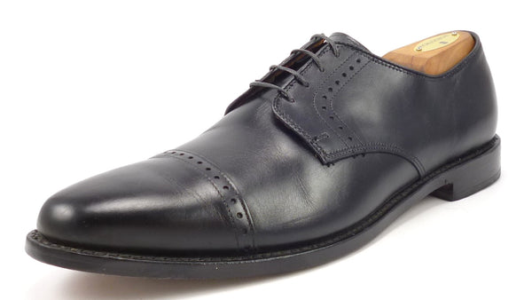 Allen Edmonds Mens Shoes Size 11 B US Clifton Leather Cap Toe Oxfords Black