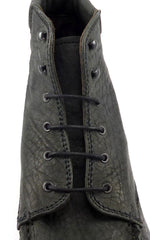 Ruffa Men's Leather Boots Size 10 Gray