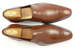 Mezlan sz 8 Leather Slip On Loafers 5193 Mens Brown fits US 8
