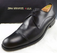 John Varvatos sz 11.5 Star USA Leather Lace Up Oxfords Mens Black fits US 11.5