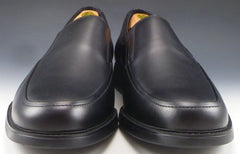 Mephisto sz EU 11/US 11.5 Griso Leather Loafers Mens Black fits US 11.5 New