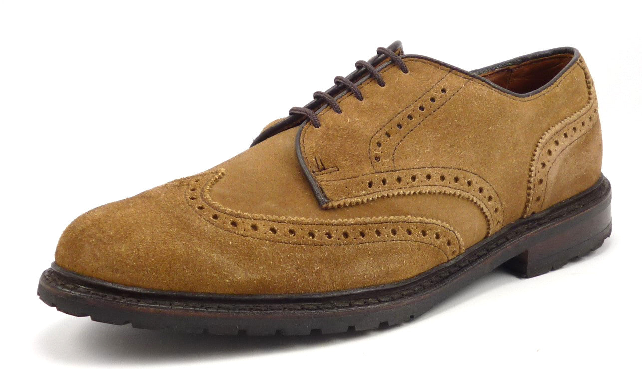 4a370ddaae Allen Edmonds Mens Shoe 8.5 US Big Sur Wingtips Brown – Distinctive ...