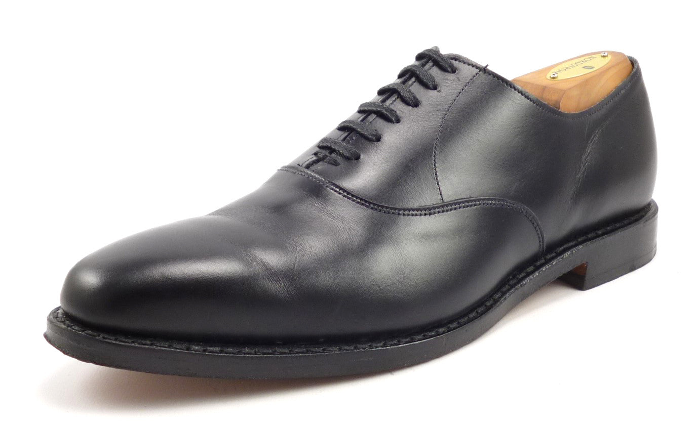 Allen Edmonds Mens Shoes Size 9.5 US Carlyle Leather Oxfords Black
