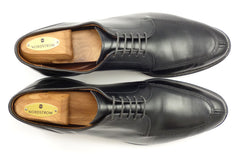 Allen Edmonds Men's Shoes 10.5 US LaSalle Leather Split Toe Oxfords Black
