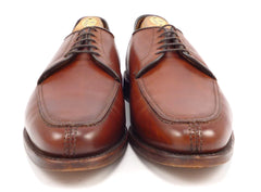 Allen Edmonds Mens Shoes Size 9 US LaSalle Leather Oxfords Chili Brown