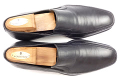 Bruno Magli Raging Leather Loafers Size 10 Black