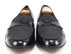 Ferragamo Men's Dean Formal Loafers Size 9.5 US Black