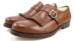 Ferragamo Men's Barros 2 Loafers Size 9.5 EE US Brown