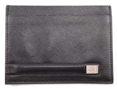 Salvatore Ferragamo Mens Leather Card Holder IX663042 Black