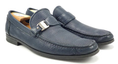 Ferragamo Men's Bravo Loafers Size 9.5 US Blue