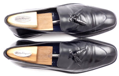 Ferragamo Men's Tassel Loafers Size 10 B US Black