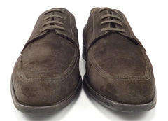 Salvatore Ferragamo Men's Shoes 11.5 US Riverdale Suede Lace Up Oxfords Brown
