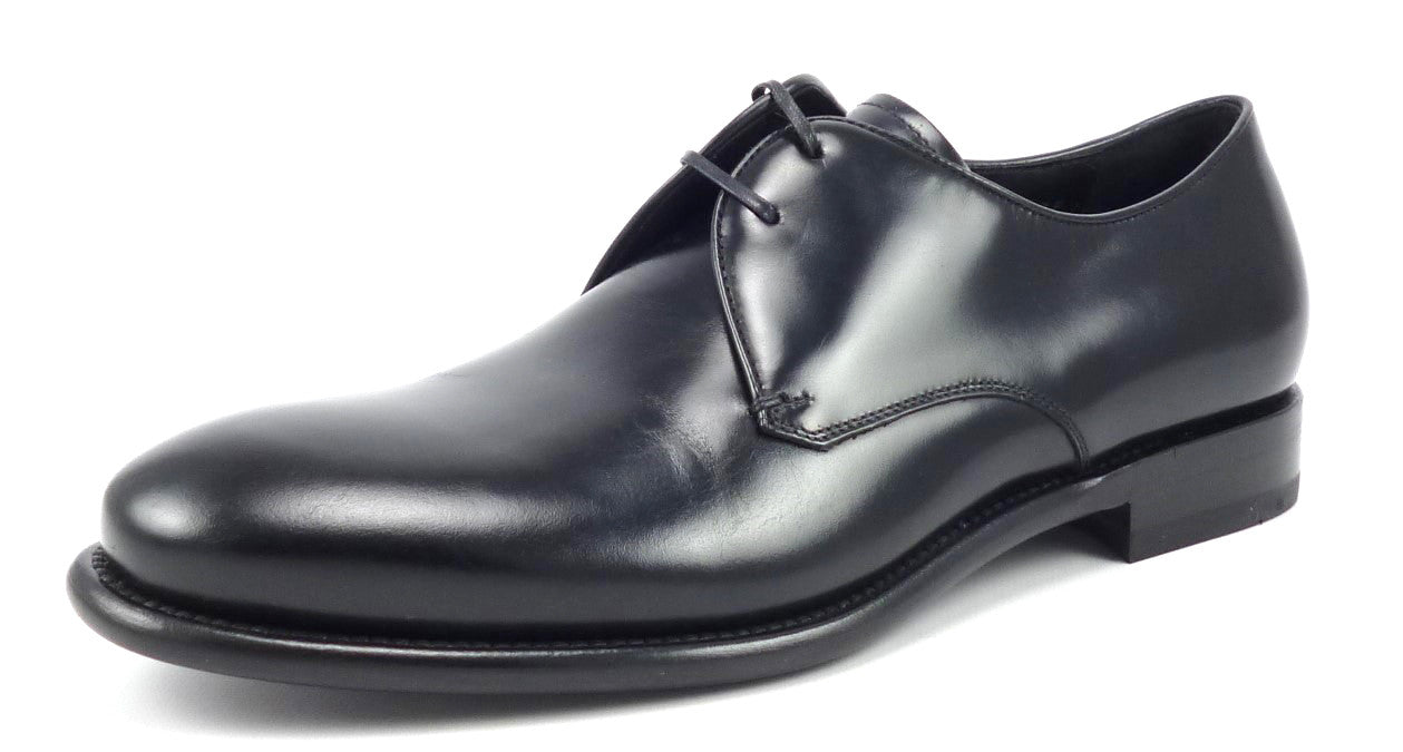 Salvatore Ferragamo Mens Shoes Size 7 EE Stefano Oxford VF94694 Black