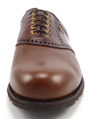 Footjoy Classic Dry New Mens Golf Shoes 10 EEE Spikeless Saddle Style 55584 Brown