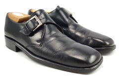 Gucci Men's Leather Monk Strap Shoes Size 8