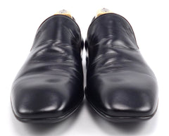 Gucci Men's Leather Loafers 215945 Size 9 US Black