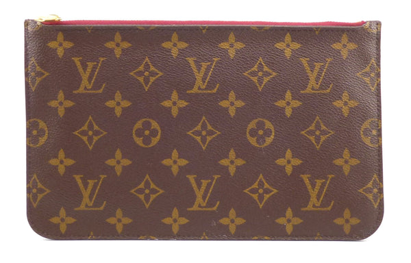 Louis Vuitton Authentic Monogram Pivoine Pink Clutch Zipper Wallet