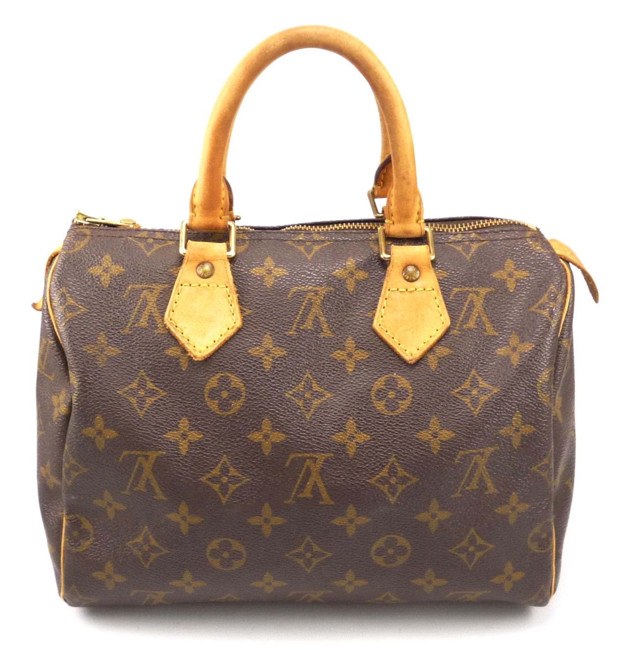 Louis Vuitton Authentic Monogram Speedy 25 Hand Bag