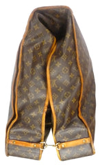 Louis Vuitton Authentic Monogram Cabine Garment Travel Bag Brown