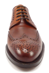 Magnanni New Men's Shoes 8 US Leather Wingtip Lace Up Oxfords Brown