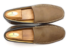 Mephisto Mens Shoes Size 9 US (8.5 EUR) Badaurd Leather Walking Loafers Brown