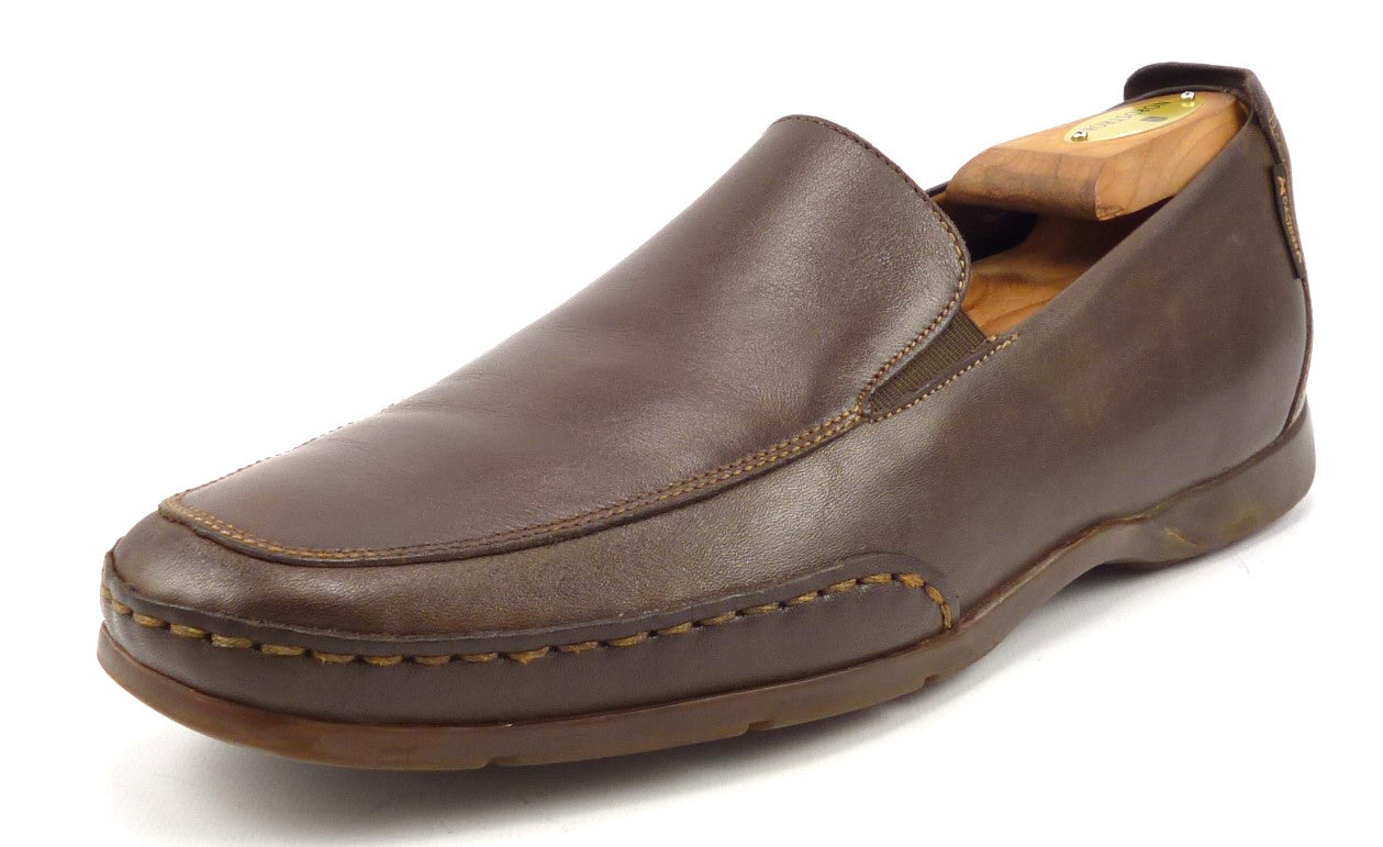 cc2ed443bc7 Mephisto Mens Shoes 8.5 US Edlef Leather Loafers Brown – Distinctive ...