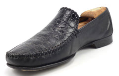 Mezlan Men's Comino Loafers Size 10.5 US Black
