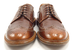 Paul Smith Lincoln Leather Wingtips Size 9.5 Brown