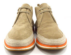 Prada Men's Suede Chukka Boots Size 9 US Brown
