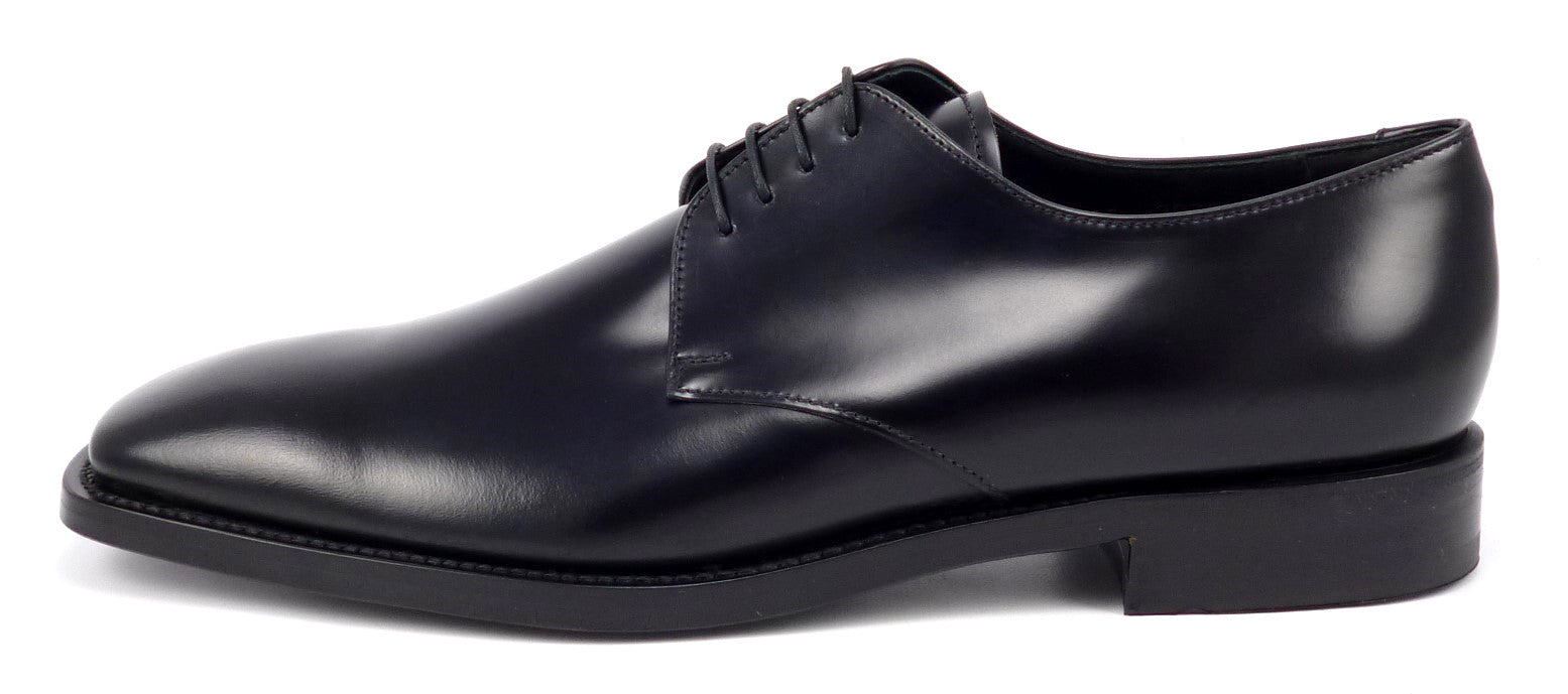 Prada Mens Shoes 10 5 Us 11 5 Leather Oxford Black New